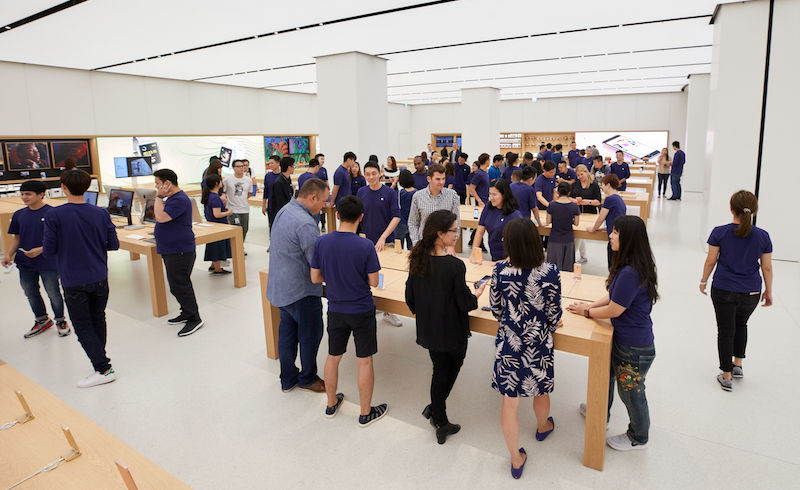 An Apple Store in Taiwan